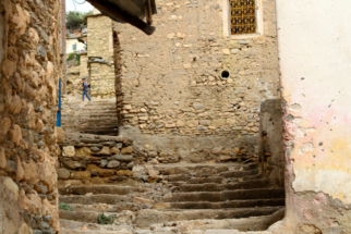 High Altas village steps