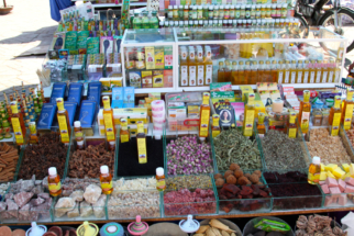 Marrakech cosmetic shop
